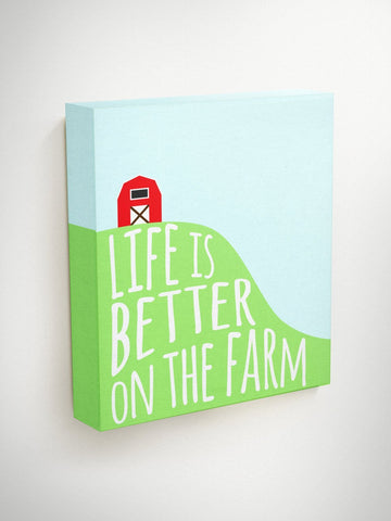 Life Is Better On The Farm, Farmhouse Wall Decor, Country Home Decor, Farmhouse Wall Art, Housewarming Gift, Neighbor Christmas Gifts, Gift
