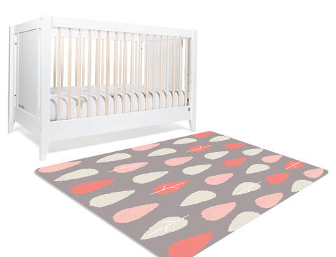 Floor Rug Area - Tree Rug - Neutral Rug - Living Room Rug - Taupe Rug - Kids Floor Rugs - Coral Tree - Area Rug Floor - Large Floor Rug