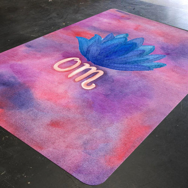 Meditation Rug, Yoga Rug, Gift for Yogi, Yoga Gifts