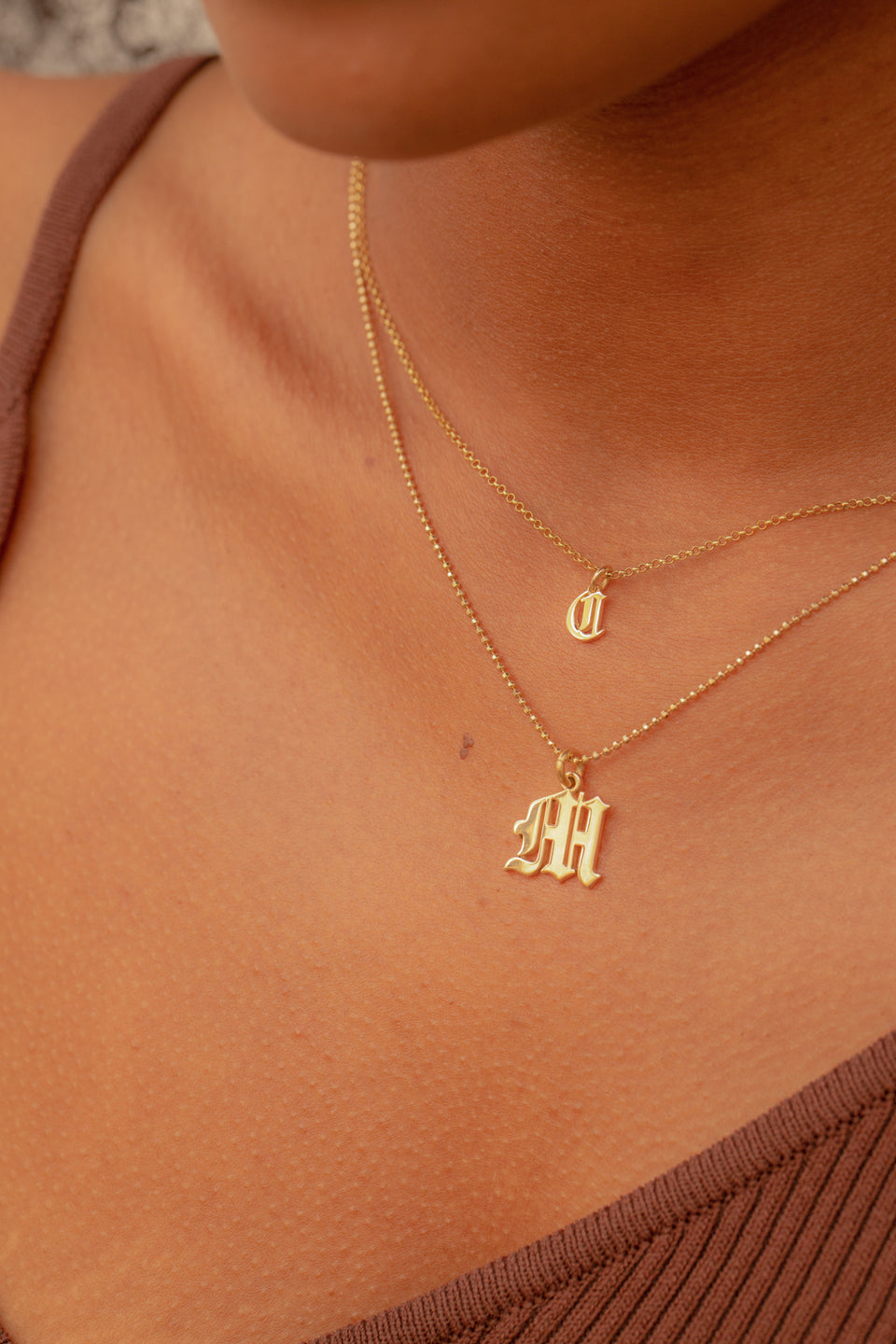 Baby Initial Necklace