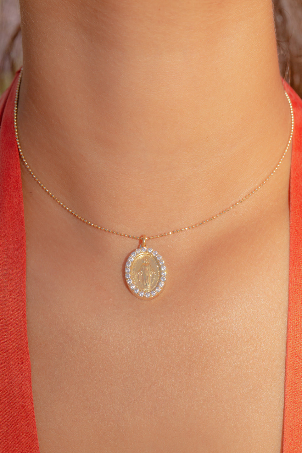 Miraculous Mary Necklace