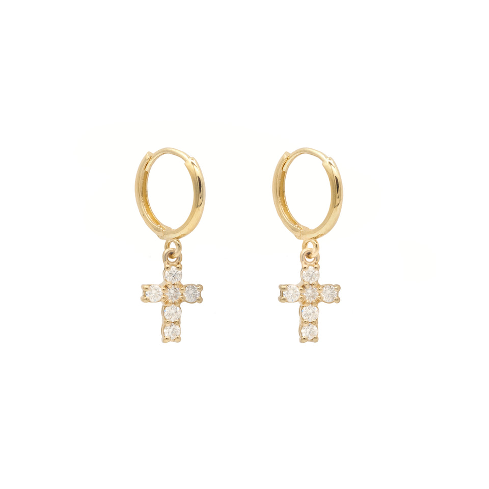Fatima Diamond Earrings