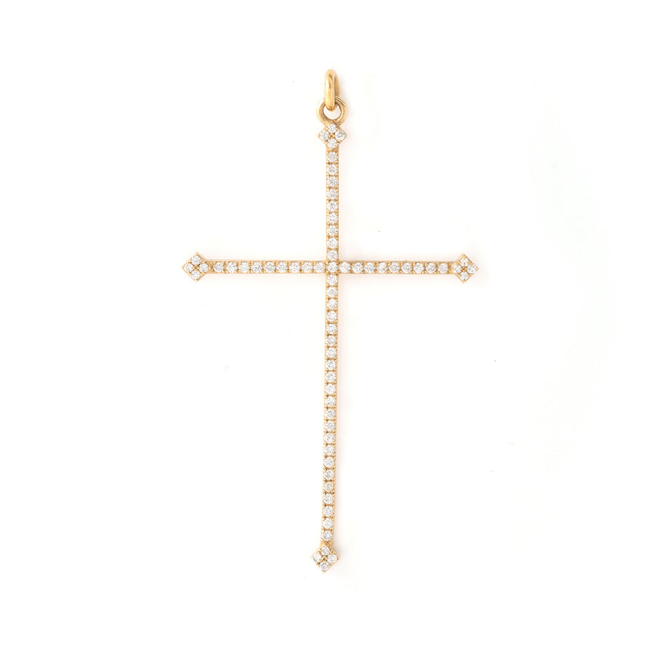 Lunga Diamond Cross