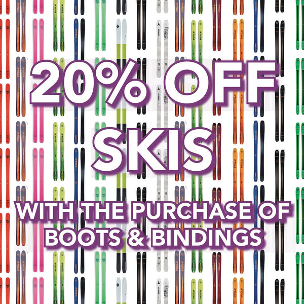 20% Off Skis!
