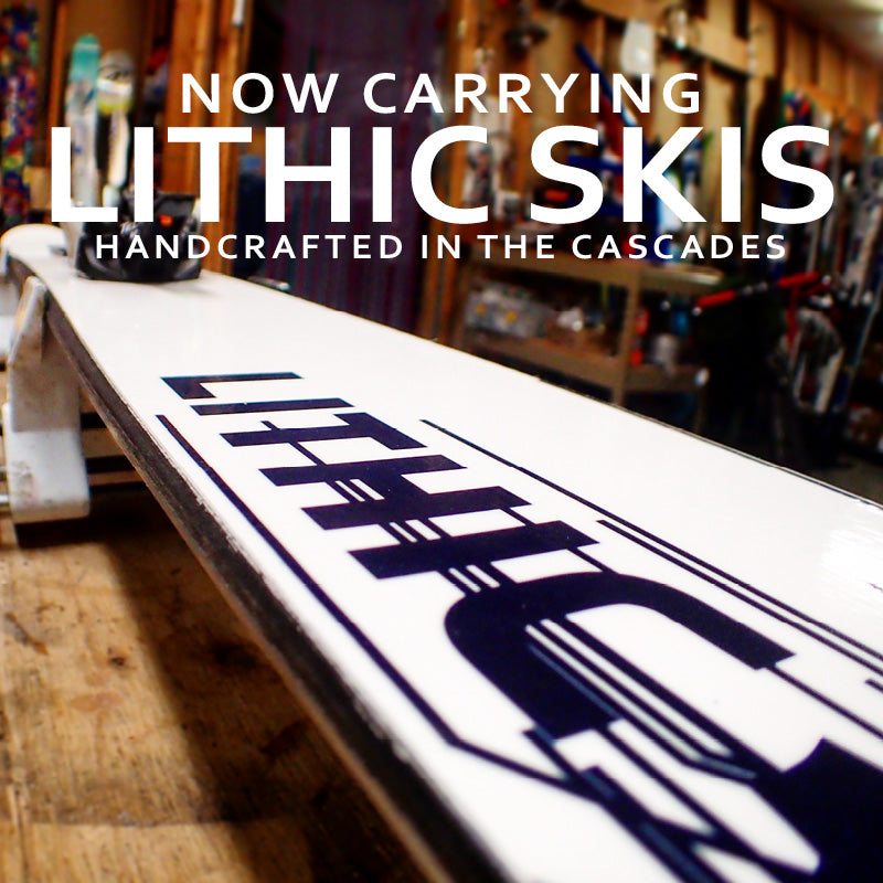 Lithic Skis - Handcrafted in the Cascades