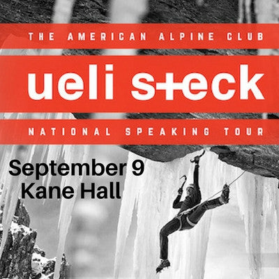 Ueli Steck Tour: Seattle | September 9