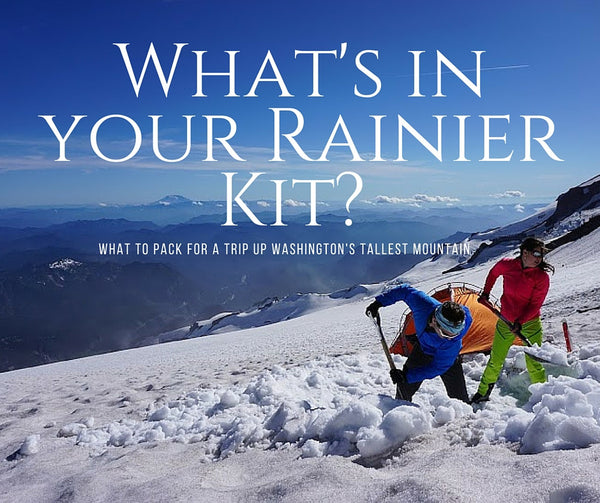 What's in your Rainier Kit?