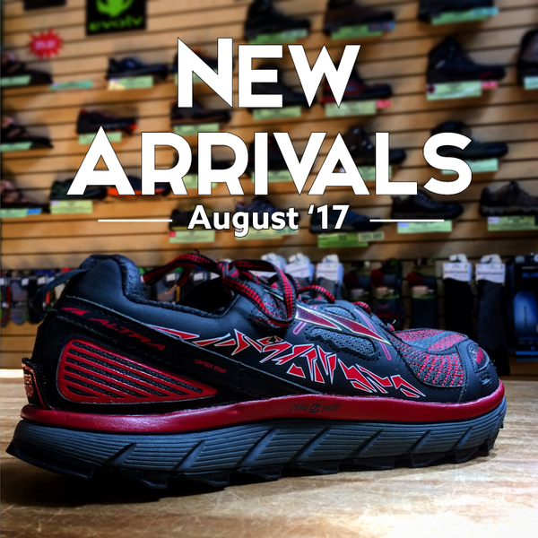 New Arrivals | August 2017