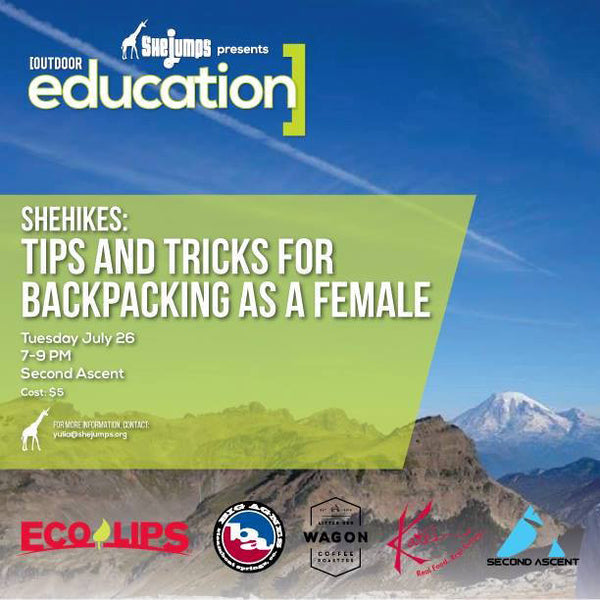 SheHikes: Tips & Tricks for Backpacking as a Female