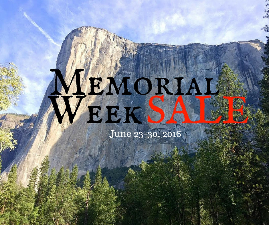 Memorial Week SALE . May 23-30