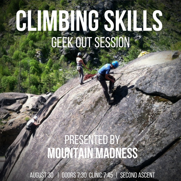Climbing Skills Geek out Session