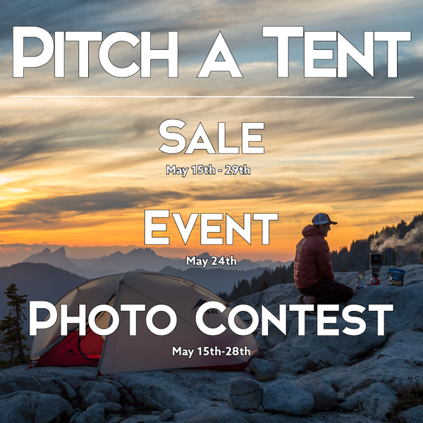 Pitch a Tent | Sale, Event and Photo Contest