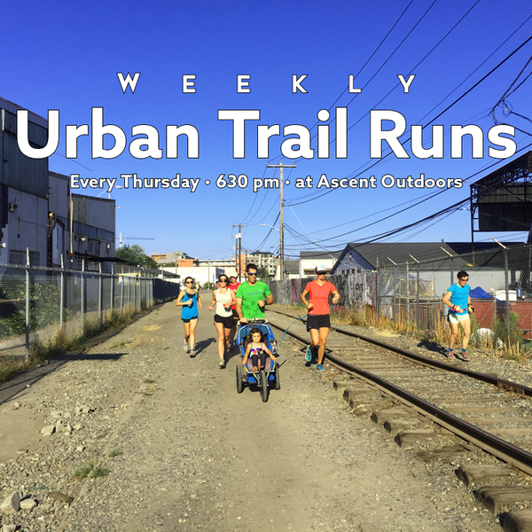 Weekly Urban Trail Runs with Cascade Endurance