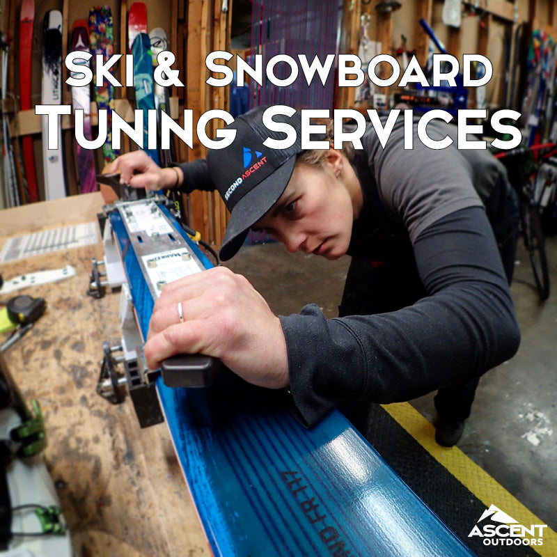 Now Offering Ski & Snowboard Tuning Services