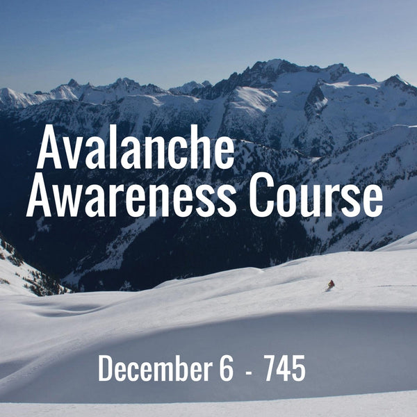 Avalanche Awareness Class