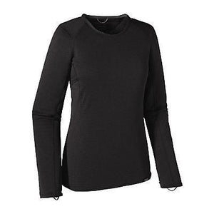 Patagonia Women's Capilene Thermal Weight Crew Black S