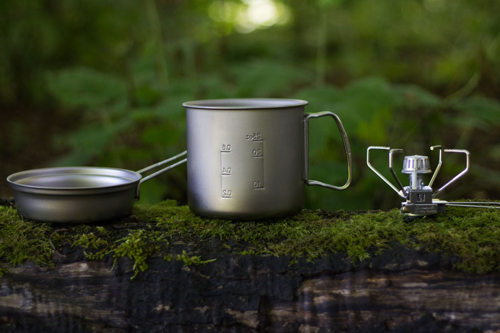 Snow Peak Cookset and Stove Rental