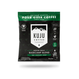Kuju Coffee Travel 5-Pack Basecamp Blend