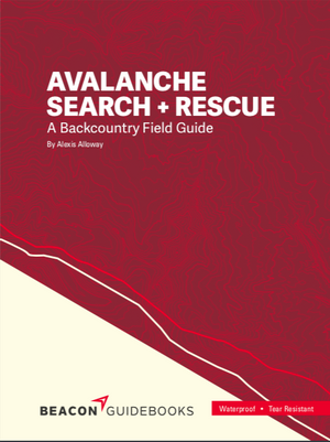 Beacon Guidebooks Avalanche Search And Rescue Book