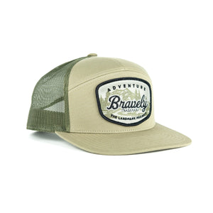 The Landmark Project Adventure Bravely 7 Panel Hat