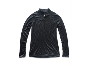The North Face Women's Wool Baselayer Long-Sleeve Zip Neck