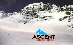 Ascent Outdoors Physical Gift Card