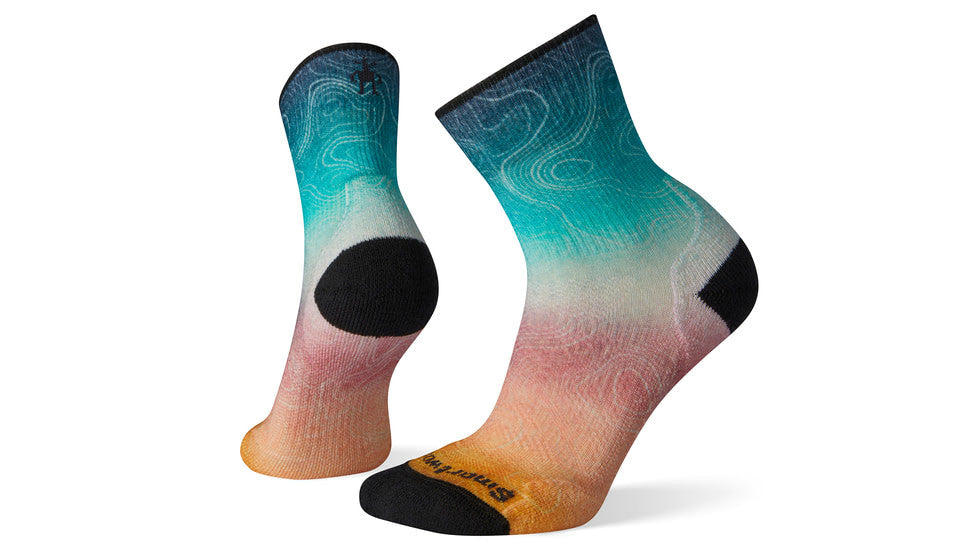 Smartwool PhD Outdoor Light Print Mid Crew