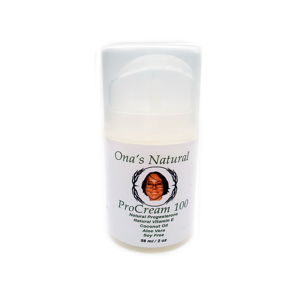 Ona's Natural ProCream 100 – 10% Progesteron Creme im Dosierspender (56 ml)