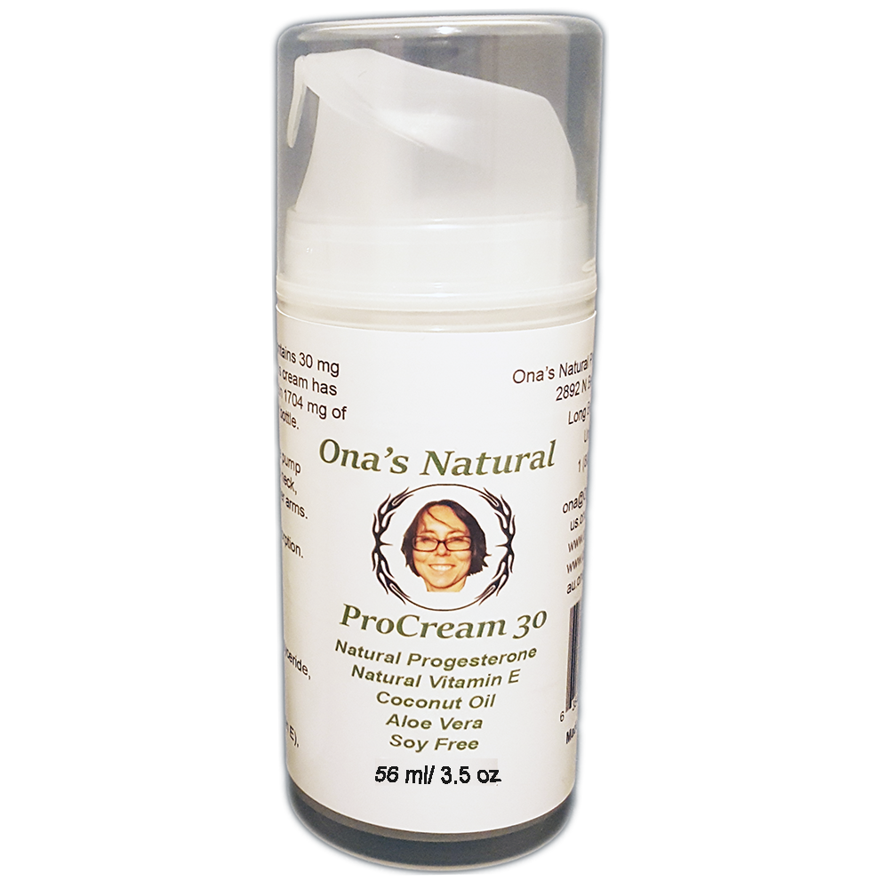 Ona's Natural ProCream 30 - 3% Progesteron im Dosierspender (98 ml)