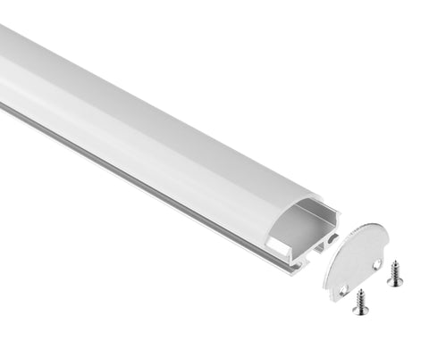 LED Profile with W/Arc-Shape Cover