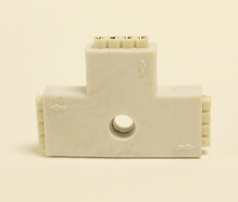 4 PIN T-shape 3-Ends Female Connector For LED RGB strip Light