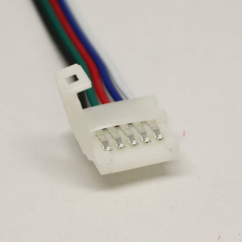 12V/24V LED Strip Light Single End Clip Connector With Wire