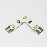 12V Strip Light L Shape Connector 3.5W/ft