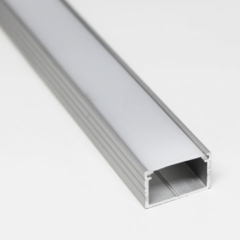 Aluminum Mounting Channel for Flexible Strip Lights, 110 V Strip light,  Square Shape