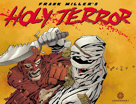Legendary Comics - Holy Terror Graphic Novel