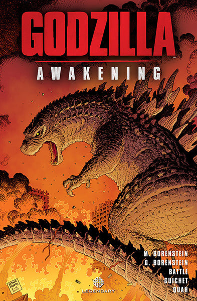 Legendary Comics - Godzilla Awakening Graphic Novel