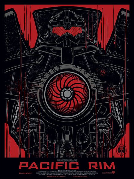 Pacific Rim - Gypsy Danger Art Print