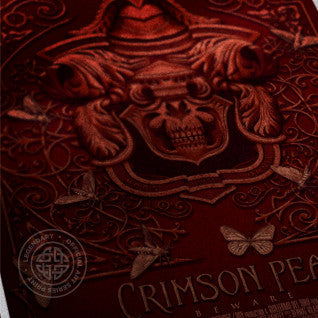 Crimson Peak - Crest Art Print