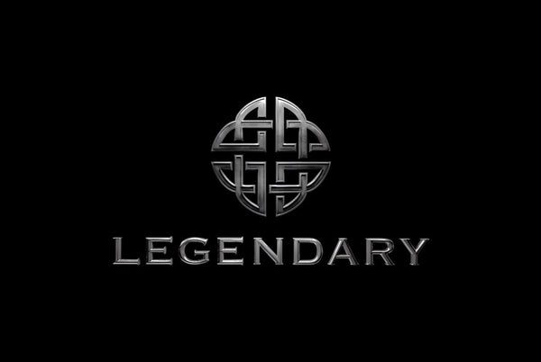 Legendary - Logo Hoodie, Zip Up (Gray)