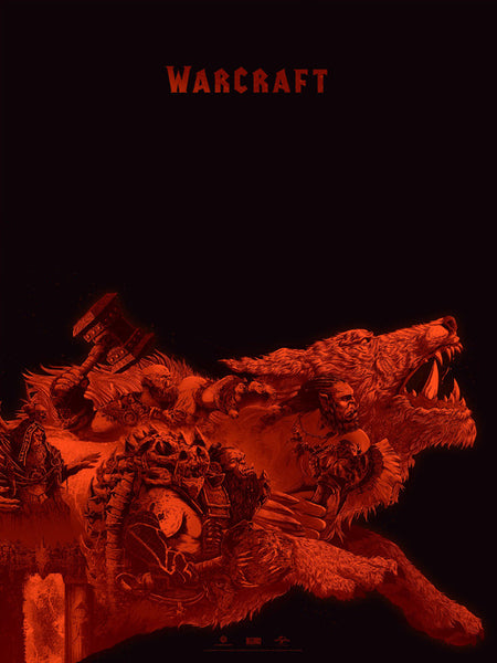 WARCRAFT ART PRINTS By Kevin Tong