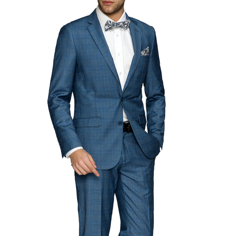 Suit NS1602 Blue Slim Fit