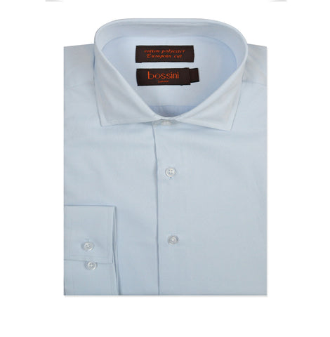 Business Shirt B3343-27 Light Blue/White