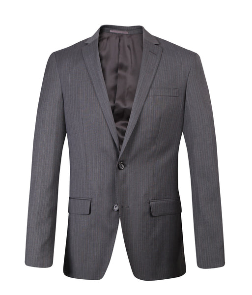 Suit BB0762 Grey Slim Fit
