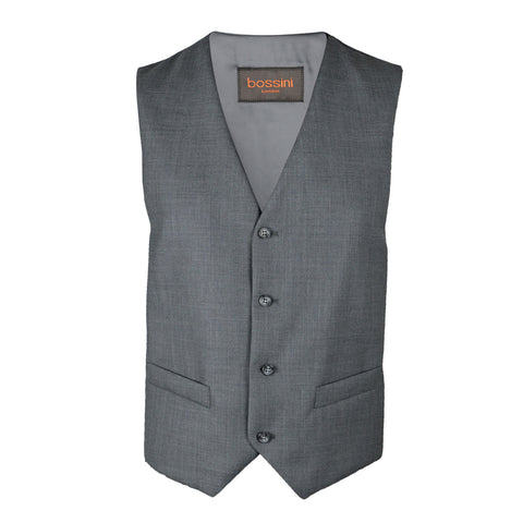 Vest BB0837 Grey Slim Fit (Wool)