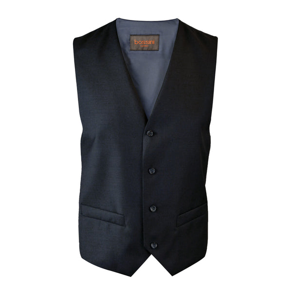 Vest BB0847 Black Slim Fit (Wool)