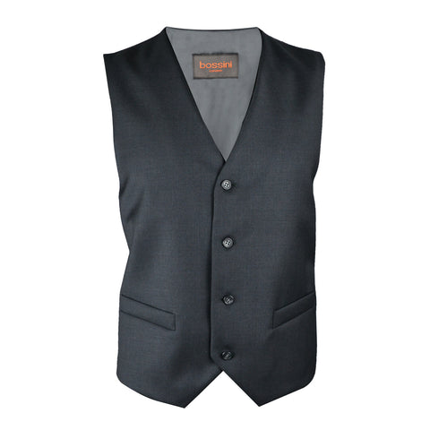 Vest BB0807 Charcoal Slim Fit (Wool)