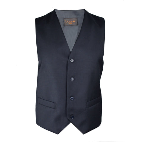 Vest BB0807 Navy Slim Fit (Wool)