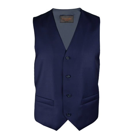 Vest BB0807 Blue Slim Fit (Wool)