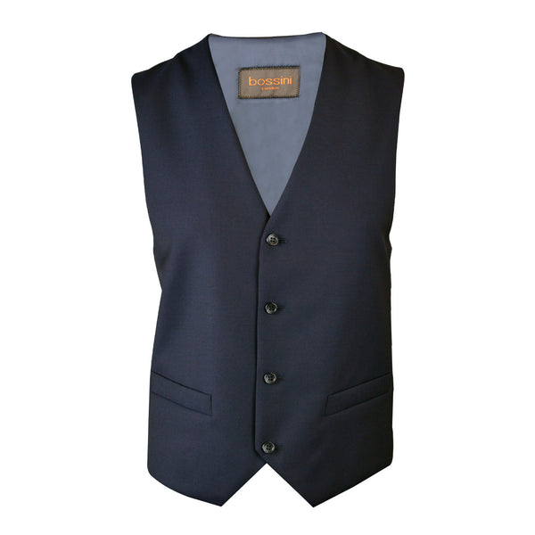 Vest BB0837 Black Slim Fit (Wool)