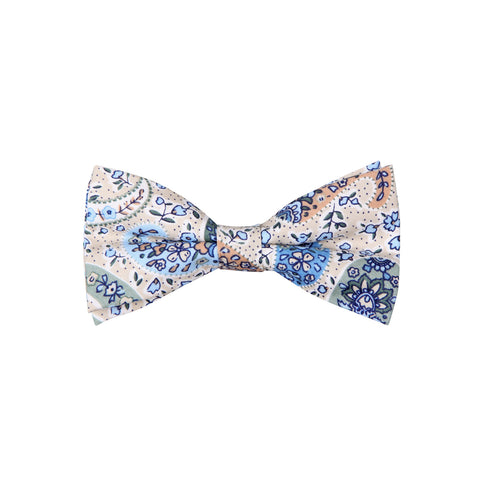 Pattern ABT15020 Tan Blue Green / Bow Tie